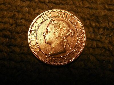 1901 Canadian LargePenny/Cent in VG condition. But you decide!!!!!!!