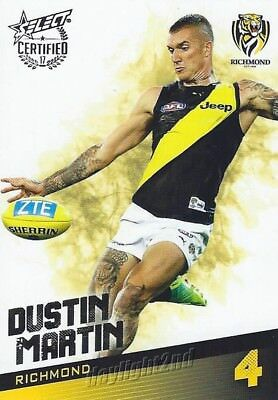 ✺Mint✺ 2017 RICHMOND TIGERS AFL Premiers Card DUSTIN MARTIN