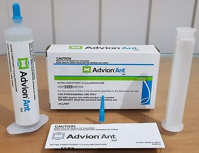1 X 30g Syngenta Advion Ant Killer Gel Bait Home Office Factory Pest Control AU