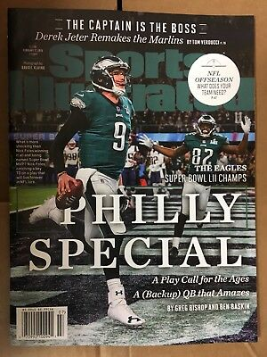 Sports Illustrated Nick Foles Philly Special Superbowl 52 Feb 12 2018 Magazine