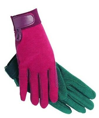 (5/X-small, Green) - SSG Gripper Riding Gloves Green 5/XS. Shipping is Free