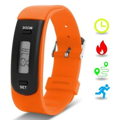 (Orange) - Kids Fitness Tracker with Pedometer, Willful Fitness Activity
