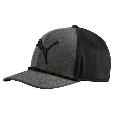 (One Size, Gray Heather) - Puma Golf 2017 Men's Go Time Hat. Brand New