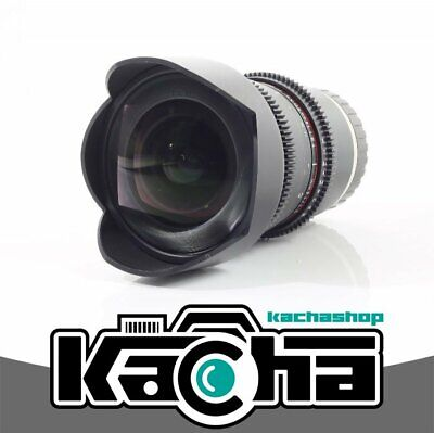 SALE Samyang 14mm T3.1 VDSLRII Cine Lens for Sony E-Mount