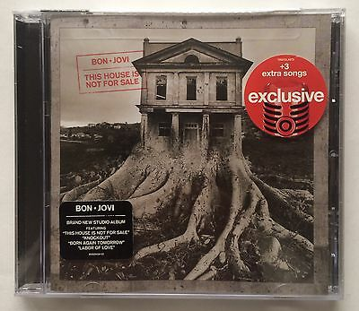 Bon Jovi 'This House Is Not For Sale' Exclusive Limited Edition Bonus Tracks CD