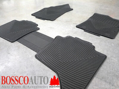 All Weather Rubber Floor Mats suitable for Toyota Hilux Double Cab 2015-2018