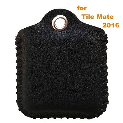 (Tile Mate, Black) - Tile Mate Case, Birgus Ultra Slim Genuine Leather [Full