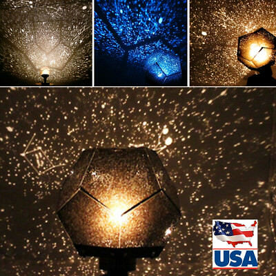 Romatic Cosmos Sky Star Projector Master LED Starry Night Light Lamps Gifts