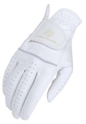 (11, White) - Heritage Premier Show Glove. Heritage Products. Free Delivery