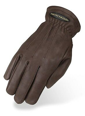 (10, Chocolate) - Heritage Winter Trail Glove. Heritage Products. Free Delivery