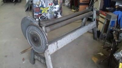 """EDWARDS 6' x 4"""" Manual Bending Rollers"""