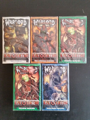 Warlord 5x Theme Decks Epic Edition Sealed ccg tcg