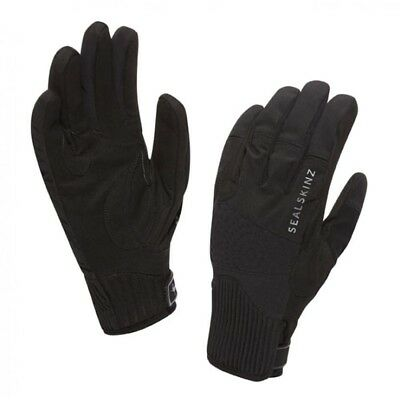 (Black, X Large) - SealSkinz Womens Chester Glove. Huge Saving