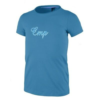 (15 years) - CMP Girl Stretch T-Shirt Acquario/Fiord Aliso. Delivery is Free