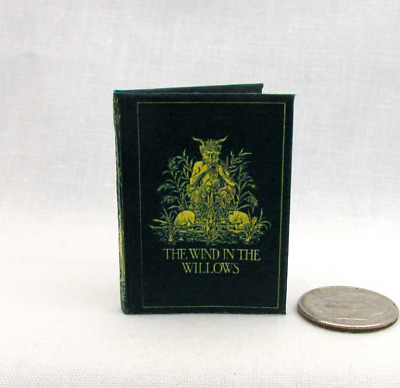 THE WIND IN THE WILLOWS 1:6 Scale Readable Illustrated Miniature Book Play Scale