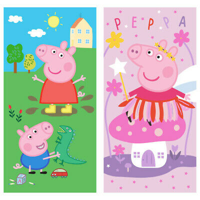 Peppa Pig Bath Towel Piglet Peppa Beach Towel Peppa George Pig Towel