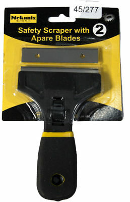 Window Scraper With Spare Blade Removes Paint Caulk From Glass Tiles Diy