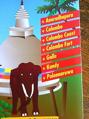 Travel Guide Books Maps Sri Lanka Map Hotels Holidays Hiking Vacation Streets