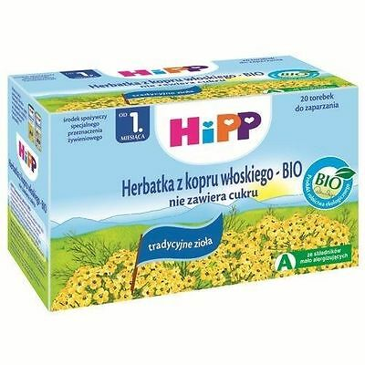 HiPP Organic Tea's Fennel, Fruit, Breastfeeding Mum, Wellness Tea/Fennel Extract
