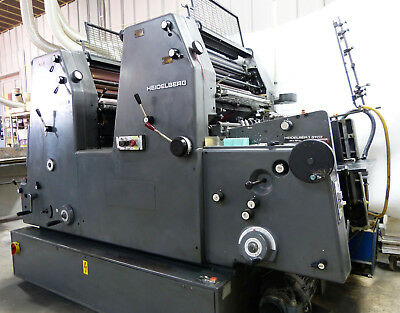 Heidelberg GTO 52Z 1982 Offset Printing Press Very good running condition