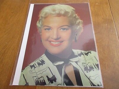 Vintage 1980s BETTY GRABLE Hollywood Magazine Pin Up Poster 8 x 11
