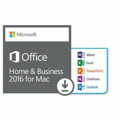 Microsoft Office Home & Business 2016 MAC ✔ Vollversion ✔ Deutsch ✔ Aktivierung