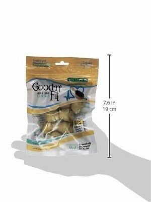 2 Pack of Good'n'Fit Healthy Hide Skin and Coat Chews, 2 pack- NEW, Dog Treats