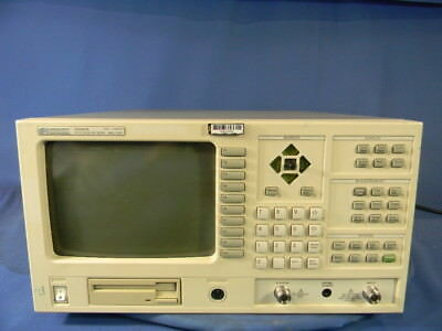Agilent 3589A Network Analyzer 30 Day Warranty