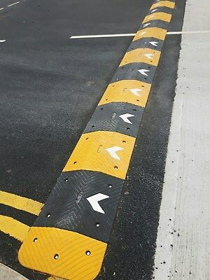 9m speed ramp 75mm yellow and black (5mph)