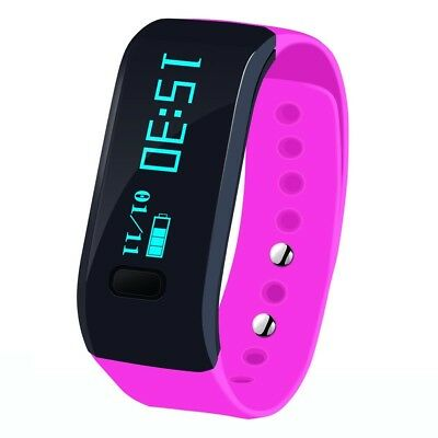 (For Android &iOS Phone, Pink) - Sports Bracelet, Arvin Fitness Activity