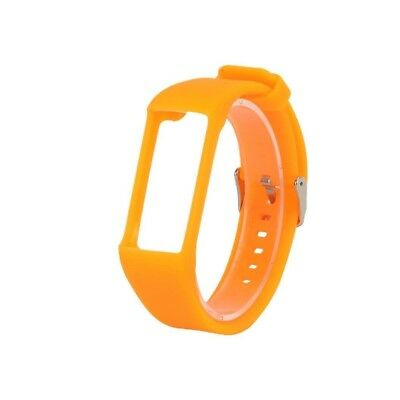 (Orange) - Pumsun Silicone Rubber Watch Band Wrist Strap For Polar A360 Smart