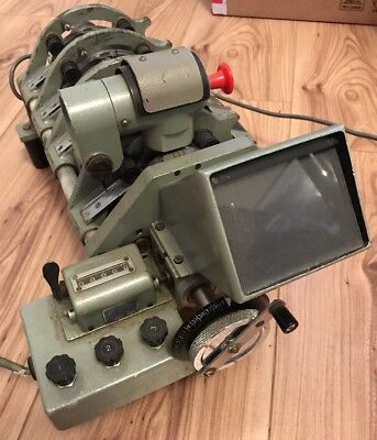 Rare Vintage Acmade 16mm Cine Splicer Projector Film Editing Equipment, Pic Sync