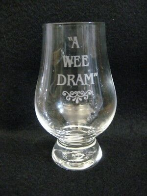 The Official Glencairn ('A Wee Dram') Scottish/Irish Whisky Glass. Brand New