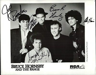 Bruce Hornsby and the Range Band Original Autogramm Autograph Foto (W-7044+