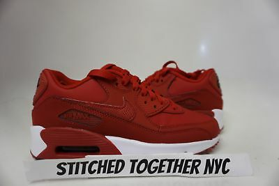(833412-600) Gs Youth Nike Air Max 90 Ltr Gym Red/black/white
