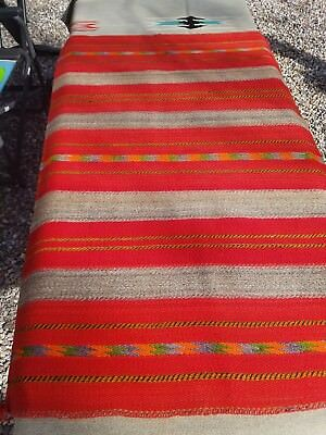 Navajo 1880s Transitional Twill Weave Blanket. Excellent condition.