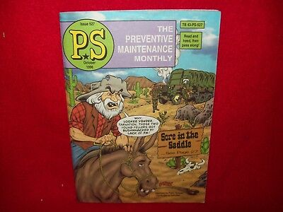Us Army Ps The Preventive Maintenance Monthly Magazine October 1996 Issue 527