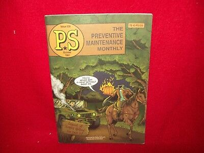 Us Army Ps The Preventive Maintenance Monthly Magazine October 1997 Issue 539