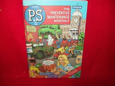 Us Army Ps The Preventive Maintenance Monthly Magazine July 1997 Issue 536