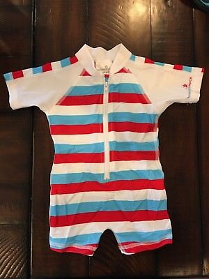 Snapper Rock one piece baby boy bathing suit 0-6 month