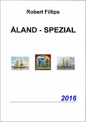 Fillips: Briefmarkenkatalog ALAND - SPEZIAL 2016