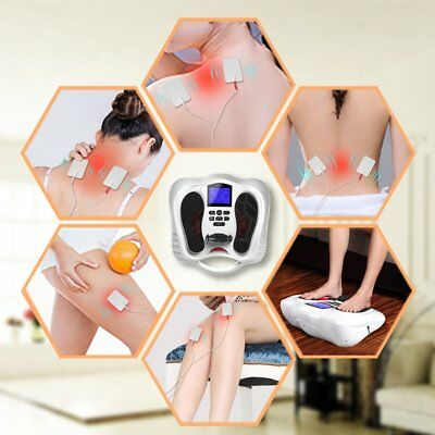 Foot Massager Machine Feeling Electrical Muscle Stimulator ReDuce Foot Pain New