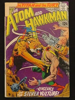 National Comics The Atom and Hawkman #39 1968