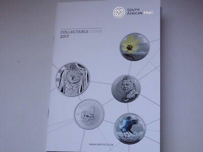 Collectable Coins 2017 South African Mint Flyer