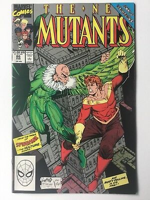 The New Mutants #86 (Feb 1990, Marvel) 1st Appearance of Cable