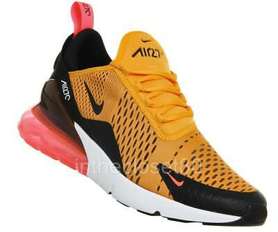 best loved a7e61 c0ac1 Nike Air Max 270 Tiger GS BG Yellow Gold Black Hot Punch Juniors Girls Boys
