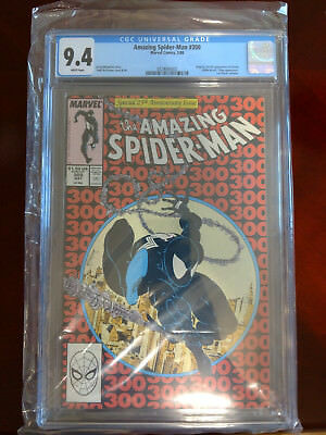 The Amazing Spider-Man #300 (May 1988, Marvel) CGC 9.4 White Pages