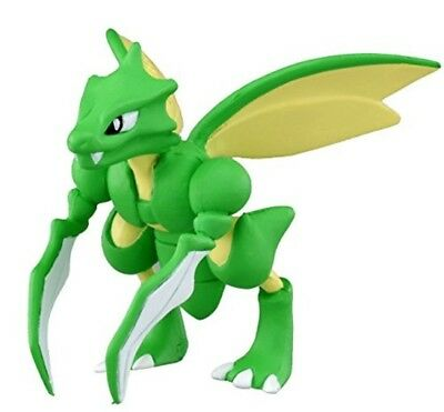"""Takaratomy Official Pokemon X and Y MC-054 2"""" Scyther Action Figure ORIGINAL"""