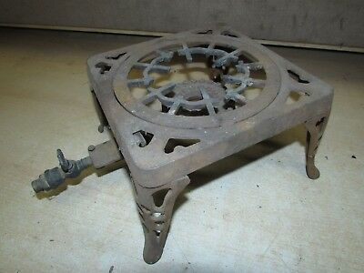 Antique Gm Co General Motors ?? Single Burner Cast Iron Stove