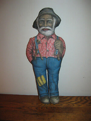 Vintage Black Americana Uncle Mose MOSES  Aunt Jemima Husband Cloth Doll